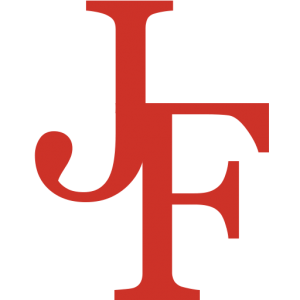 JF Logo all Red